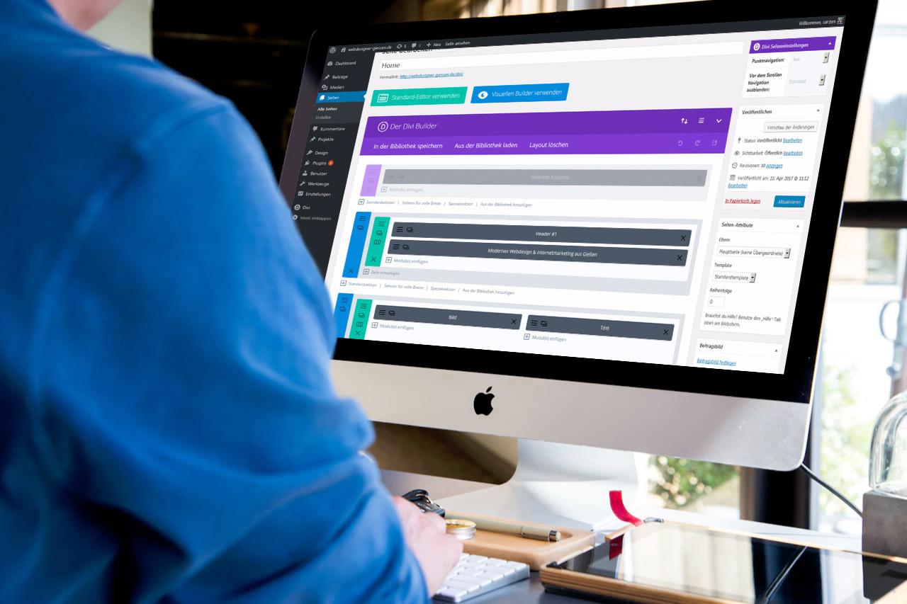 Webseiten erstellen - Umsetzung von Seo optimierten Webseiten