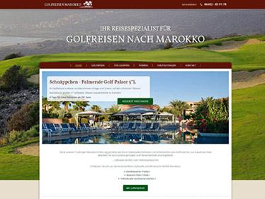Webdesign Referenz - Marokko Reisen
