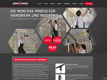 Webdesign Referenz - MS Handelsvertretung