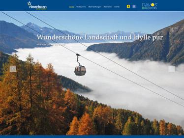 Webdesign Referenz - Davos Klosters Bergbahnen