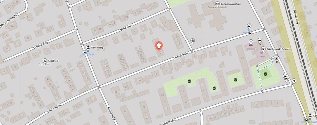 Anfahrtsbeschreibung Webdesign Agentur Radolfzell - Sonnenrain 6a, 78315 Radolfzell am Bodensee