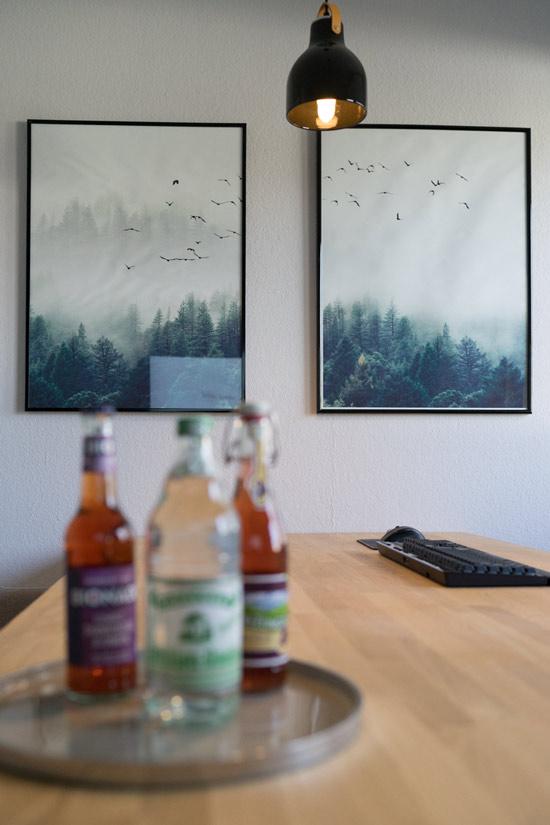 Für Getränke und Snacks ist gesorgt. Webdesign & SEO Schulungen für bis zu 5 Personen